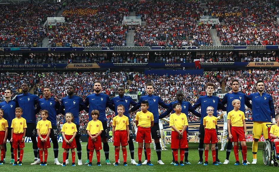 France winner World Cup Russia 2018